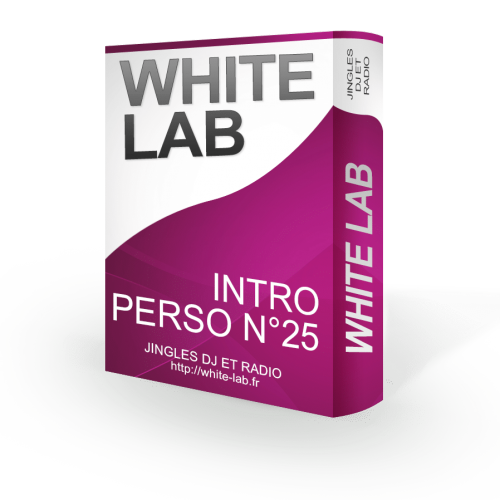 intro personnalisable 25