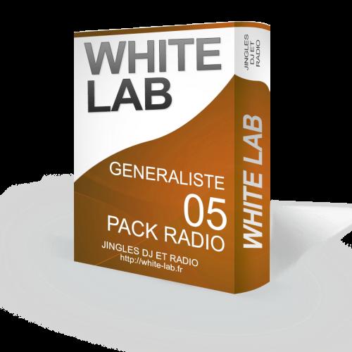 PACK RADIO 04 25 jingles Généraliste