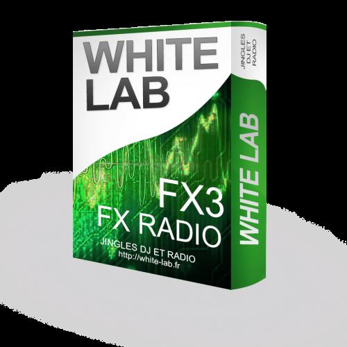 pack radio FX3